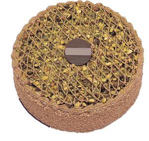 Krokanli 4 ile 6 kisilik yas pasta leziz  Bursa çiçek iznik çiçek online çiçek siparişi