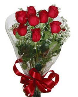 Çiçek sade gül buketi 7 güllü buket  Çiçekçi Bursa sitesi orhangazi çiçek satışı