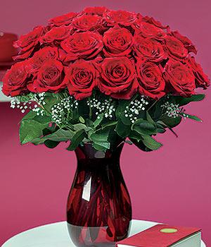 Bursa çiçekçiler orhaneli çiçekçiler  11 adet Vazoda Gül sevenler için ideal seçim