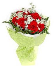 Bursa çiçek büyük orhan yurtiçi ve yurtdışı çiçek siparişi  7 adet kirmizi gül buketi tanzimi