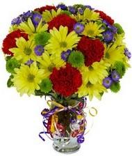 En güzel hediye karışık mevsim çiçeği  Bursa çiçek satışı Bursa çiçek yolla