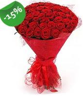 51 adet kırmızı gül buketi özel hissedenlere  Online Bursa çiçekçi