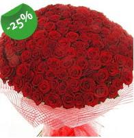 151 adet sevdiğime özel kırmızı gül buketi  Online Bursa çiçekçi