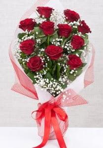 11 kırmızı gülden buket çiçeği  Çiçekçi Bursa sitesi gemlik güvenli kaliteli hızlı çiçek