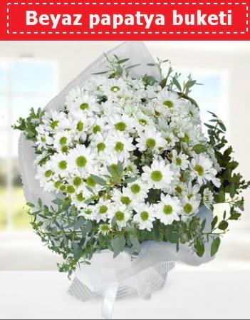Beyaz Papatya Buketi  Çiçekçi Bursa sitesi gemlik güvenli kaliteli hızlı çiçek