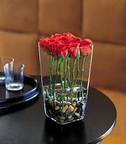 Bursa çiçek yolla osmangazi online çiçekçi , çiçek siparişi  kare mika yada cam vazo renkligül tanzim