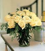 Online Bursa çiçekçi  11 adet sari gül mika yada cam vazo tanzim