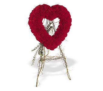 Bursa çiçek siparişi  karanfillerden kalp pano