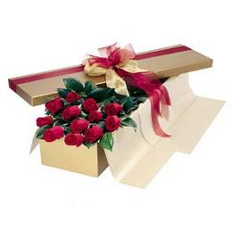 Bursa çiçek ucuz çiçek gönder  10 adet kutu özel kutu