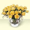 Çiçekçi Bursa sitesi inegöl çiçek mağazası , çiçekçi adresleri  11 adet sari gül cam yada mika vazo içinde