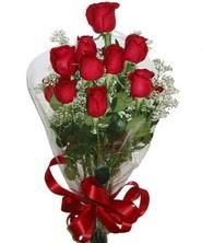 9 adet kaliteli kirmizi gül   Bursa çiçek siparişi inegöl çiçek servisi , çiçekçi adresleri