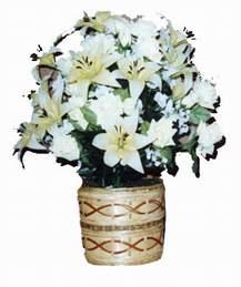 yapay karisik çiçek sepeti   Bursa çiçek mustafa kemal paşa çiçek siparişi sitesi