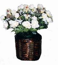 yapay karisik çiçek sepeti   Bursadaki çiçekçiler bursaya çiçek yolla