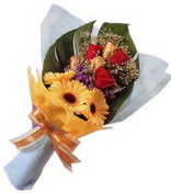 güller ve gerbera çiçekleri   Çiçekçi Bursa sitesi nilüfer anneler günü çiçek yolla