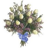 bir düzine beyaz gül buketi   Çiçekçi Bursa sitesi nilüfer anneler günü çiçek yolla