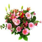 lilyum ve gerbera çiçekleri - çiçek seçimi -  Bursa çiçek iznik çiçek online çiçek siparişi