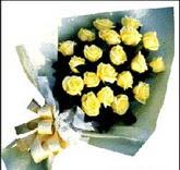 sari güllerden sade buket  Bursa çiçek büyük orhan yurtiçi ve yurtdışı çiçek siparişi