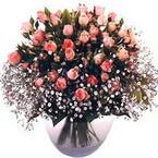 büyük cam fanusta güller   Bursa çiçek satışı iznik hediye sevgilime hediye çiçek