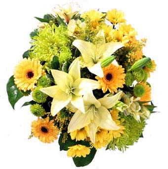 karisik mevsim demeti  Bursadaki çiçekçiler bursaya çiçek yolla