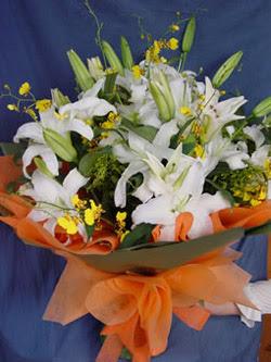 Bursa çiçek siparişi  5 ADET KAZABLANKA BUKETI KALITEDEN SASMAYANLARA