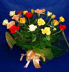 Bursa çiçek satışı Bursa çiçek yolla   13 adet karisik renkli güller