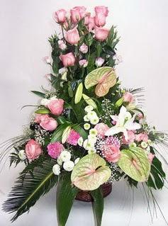 Bursa çiçek yolla osmangazi online çiçekçi , çiçek siparişi  özel üstü süper aranjman