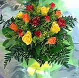 13 adet karisik gül buketi demeti   Bursadaki çiçekçi nilüfer hediye çiçek yolla