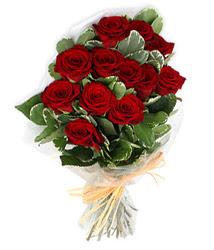 Bursa çiçek orhangazi internetten çiçek siparişi  9 lu kirmizi gül buketi.