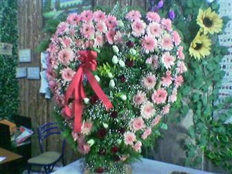 Bursa çiçek iznik çiçek online çiçek siparişi  SEVDIKLERINIZE ÖZEL KALP PANO