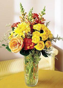 Çiçekçi Bursa sitesi gemlik güvenli kaliteli hızlı çiçek  mika yada cam içerisinde karisik mevsim çiçekleri