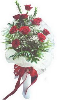 Bursa çiçek satışı Bursa çiçek yolla   10 adet kirmizi gülden buket tanzimi özel anlara