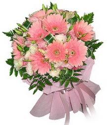 Bursa çiçek ucuz çiçek gönder  Karisik mevsim çiçeklerinden demet