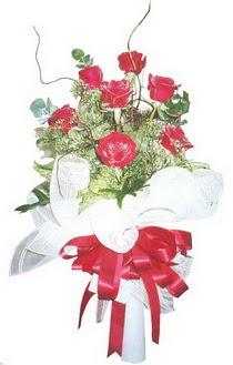 Online Bursa çiçekçi  7 adet kirmizi gül buketi