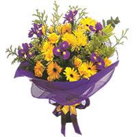 Çiçekçi Bursa sitesi nilüfer anneler günü çiçek yolla  Karisik mevsim demeti karisik çiçekler