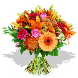 Çiçekçi Bursa sitesi inegöl çiçek mağazası , çiçekçi adresleri  Karisik kir çiçeklerinden görsel demet