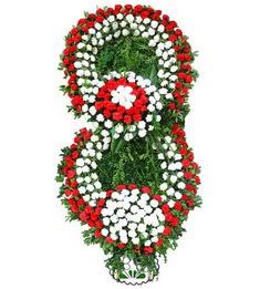 Görsel Cenaze çiçek , cenaze çiçek , çelengi  Bursadaki çiçekçi nilüfer hediye çiçek yolla