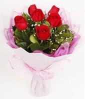 9 adet kaliteli görsel kirmizi gül  Bursa çiçek iznik çiçek online çiçek siparişi