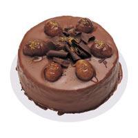 Kestaneli çikolatali yas pasta  Bursa çiçek büyük orhan yurtiçi ve yurtdışı çiçek siparişi