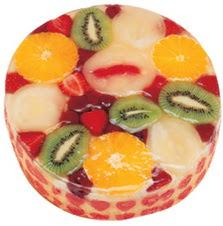 Meyvali 4 ile 6 kisilik yas pasta leziz  Bursa çiçek satışı Bursa çiçek yolla
