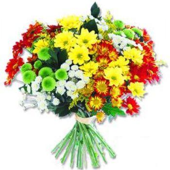 Kir çiçeklerinden buket modeli  Çiçekçi Bursa sitesi orhangazi çiçek satışı