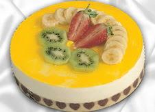 pasta gönderme 4 ile 6 kisilik yas pasta muzlu yaspasta  Bursa çiçek mustafa kemal paşa çiçek siparişi sitesi