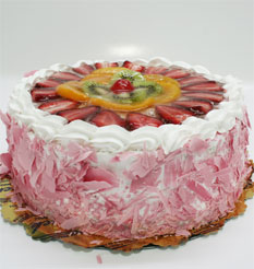 görsel pastacilar 4 ile 6 kisilik yas pasta karisik meyvali  Bursa çiçekçiler orhaneli çiçekçiler