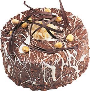 pasta satisi 4 ile 6 kisilik çikolatali yas pasta  Bursa çiçekçiler nilüfer cicekciler , cicek siparisi