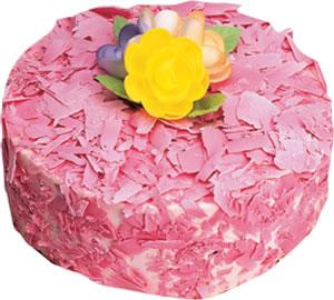 pasta siparisi 4 ile 6 kisilik framboazli yas pasta  Bursa çiçek satışı iznik hediye sevgilime hediye çiçek