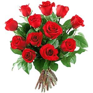 11 adet bakara kirmizi gül buketi  Bursa çiçek kestel uluslararası çiçek gönderme