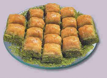 pasta tatli satisi essiz lezzette 1 kilo fistikli baklava  Bursadaki çiçekçi bursaya çiçek