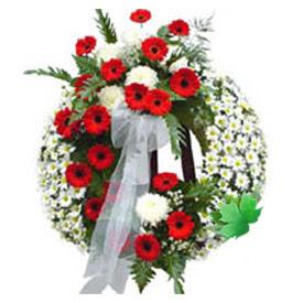 Cenaze çelengi cenaze çiçek modeli  Bursadaki çiçekçi nilüfer hediye çiçek yolla