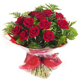 Ucuz Çiçek siparisi 11 kirmizi gül buketi  Bursa çiçekçiler orhaneli çiçekçiler