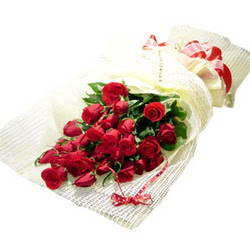 Çiçek gönderme 13 adet kirmizi gül buketi  Bursa çiçekçi inegöl kaliteli taze ve ucuz çiçekler