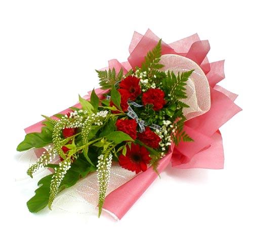 Karisik çiçek buketi mevsim buket  Online Bursa çiçekçi